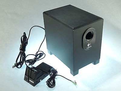LOGITECH  X-240 Subwoofer 2.1 Surround Sound Computer Speakers SUB ONLY - TESTED