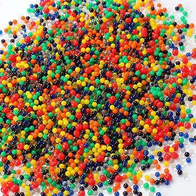 1000X Water Balls Crystal Mud Pearls Jelly Gel Bead for Toy Refill Color Decor