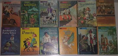 12 Companion Library Double Children's Classic Books bulk lot vintage hardcovers