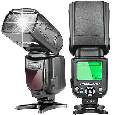 Neewer NW562 eTTL Flash Speedlite con LCD Display per DSLR Canon 7D Mark II ecc.