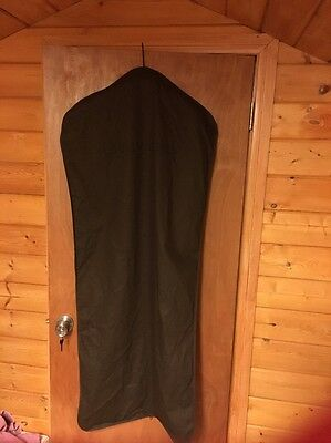 "Louis Vuitton Long 53"" x 23"" Brown Cloth Storage Travel Hanging Garment  Bag"