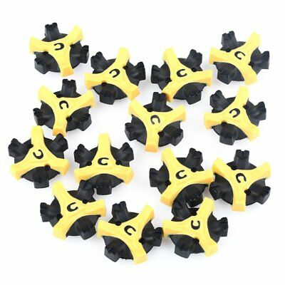 14pcs Replacement Golf Shoe Spikes Champ Cleat Fast Twist Q-Lok For Footjoy UK