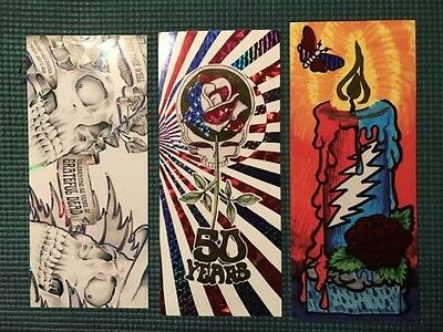 Fare Thee Well Grateful Dead 50th Chicago Mail Order Ticket Stub Set (FLOOR)
