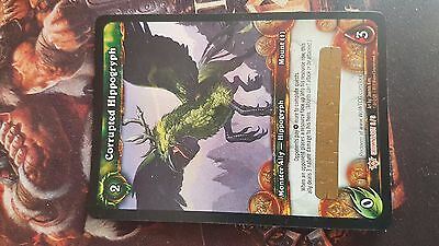 WoW TCG: CORRUPTED HIPPOGRYPH UNSCRATCHED Loot Card Epic Green Flying Mount