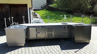 Outdoor Grillkche. Awesome Outdoor Gas Grill Kitchen Avalon By ...