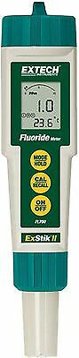 Extech FL700 Fluoride Meter LCD Displays PPM & Temperature Field or Lab Testing