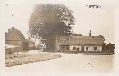 Stagsden, Beds, Real photo, plain back, old postcard, unposted  2