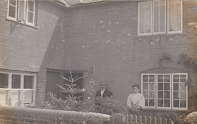 Residential House, Aylesbury, Bucks, Real photo, old postcard, posted 1906