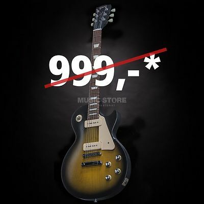 Gibson Gibson - Les Paul 60s Tribute 2016 T VS Satin Vintage Sunburst