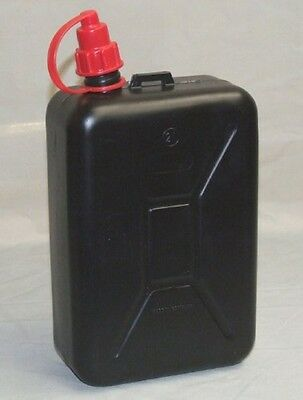 Fuel Storage Can 2 Litre Petrol Diesel Car with Nozzle Travel Canister Plastic