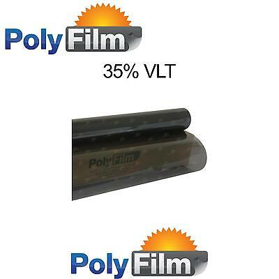 Window Tint Film 35% Black Metalized 100cm x 10m Roll Glass Car Home Office Bulk