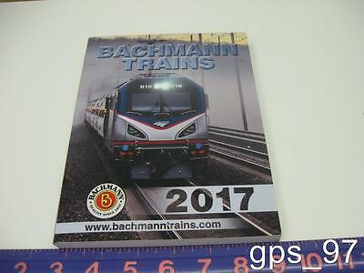BACHMANN WILLIAMS 2017 TRAIN CATALOG N,HO,O,ON30,G Scale Trains - NEW