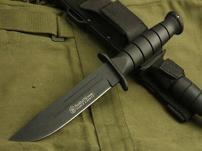 Smith Camping Survival Military Tactical Bowie Hunting Knife Jagdmesser Messer