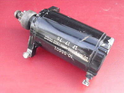 OEM 1965-1983 Mercury 35hp-40hp-50hp 9Tooth Outboard Starter 50-55601/38890 $39