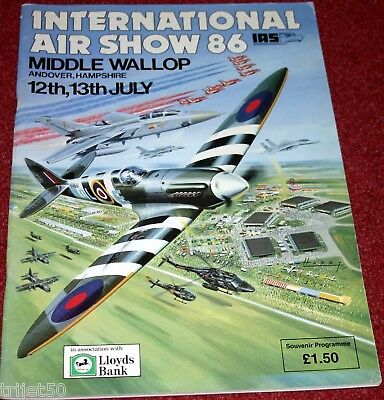Middle Wallop 1986 Airshow Programme