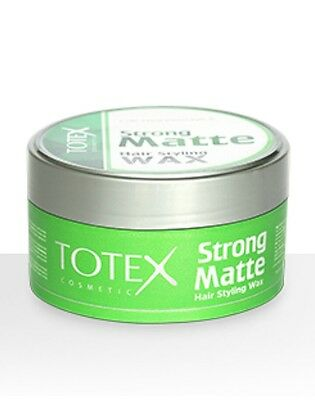 Totex Hair Styling Wax Strong Matte Look 150ml