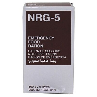 24x 500g NRG 5 Notration Notverpflegung Krisenversorgung Emergency Survival Food