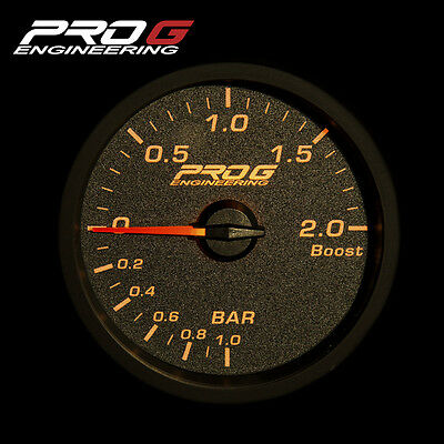 Oil Temperature °C 60mm Pro G Race Series RC Gauge amber red