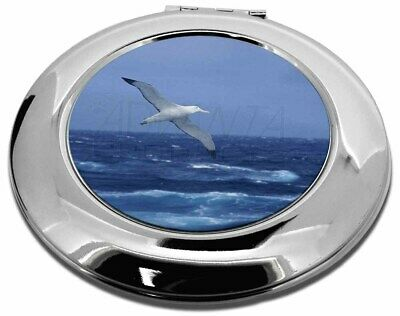 Sea Albatross Flying Free Make-Up Round Compact Mirror Christmas Gift, AB-106CMR