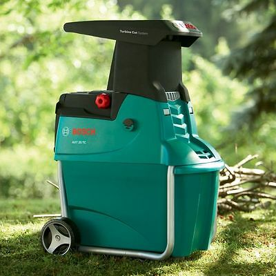Bosch AXT 25 TC Quiet Shredder Up to 230 kg/h 45mm Branch Diameter Capacity