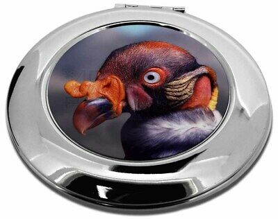 King Vulture Bird of Prey Make-Up Round Compact Mirror Christmas Gift, AB-66CMR