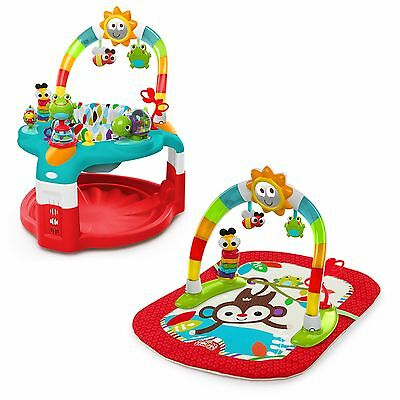 Baby 2 In 1 Silly Sunburst Activity Gym & Saucer Bright Starts Play Mat