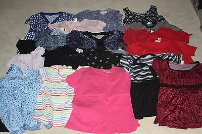 18-pc HUGE LOT Spring Summer XL Maternity Clothing EUC Motherhood Dresses Tops