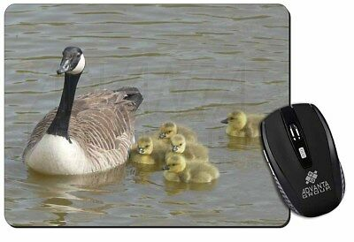 Canadian Geese and Goslings Computer Mouse Mat Christmas Gift Idea, AB-G1M