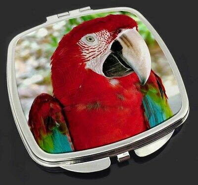 Green Winged Red Macaw Parrot Photo Snow Globe Waterball Stocking Fil AB-PA11GL