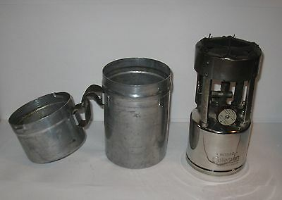 Vintage 1940's Coleman Military Pocket Stove no 530 with chrome base