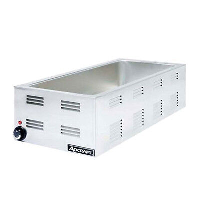 Adcraft FW-1500W 4/3 Size Electric Countertop Food Warmer 1500 Watt