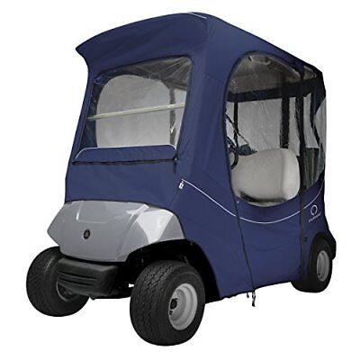 Classic Accessories Golf Cart FadeSafe Enclosure for Yamaha, Short Roof, Navy