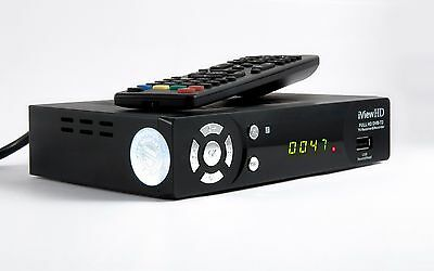 UK FULL HD 1080P Freeview Receiver & FULL HD USB Recorder DIGITAL TV Set Top Box