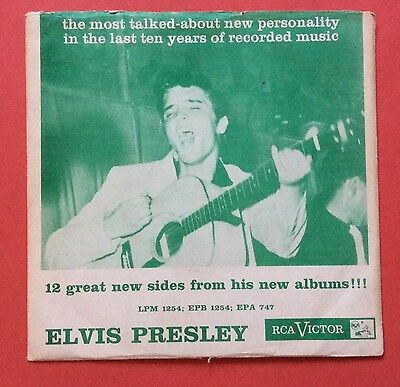 Elvis Presley-One Of The Rarest Elvis Records In The World-Uber  Uber Uber Rare