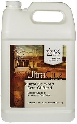 UltraCruz Wheat Germ Oil Blend for Horses and Livestock 1 gal (125 day supply)