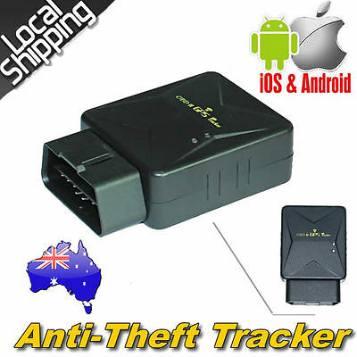 3G GPS Tracker OBD2 Live Realtime Vehicle Car Spy OBD2 Tracking Anti-theft