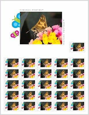 BUTTERFLY, MOTH [2] _PRE-ORDER_Picture Postage Stamp SHEET Canada 2017 po52