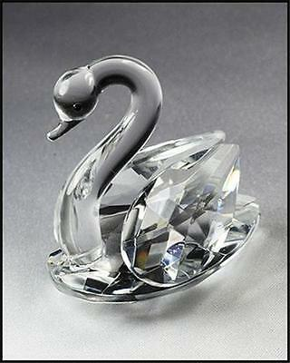 Elegant Crystal Swan  ORNAMENT, Figurine,BABY CHRISTENING, BIRTHDAY GIFT IDEA