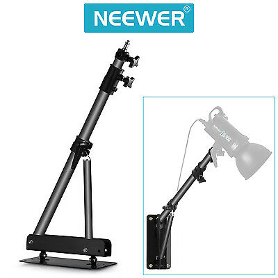 """Neewer 49"""" Wall Mounting Boom Arm for Photography Video Light Monolight (Black)"""