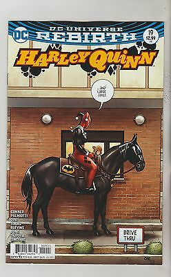 Dc Comics Harley Quinn #19 July 2017 Rebirth Variant 1St Print Nm
