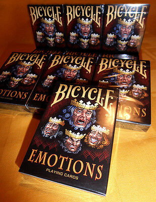 CARTE DA GIOCO BICYCLE EMOTIONS,poker size limited edition