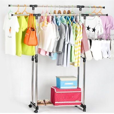 Clearance!Foldable 6 Tier Clothes Airer Horse Laundry Drying Rack Garment Hanger