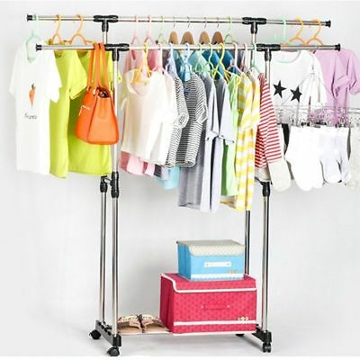 Pro Foldable 6 Tiers Clothes Airer Horse Laundry Drying Rack Garment Hangers XA