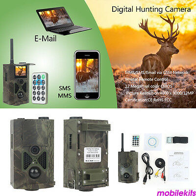HC-550G Hunting Wild Trail Camera Video Scouting Infrared 1080P 16MP MMS GPRS