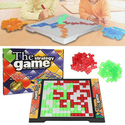 Strategic Board Game Blokus Gifts Educational Fancy Toys For Children Kids New