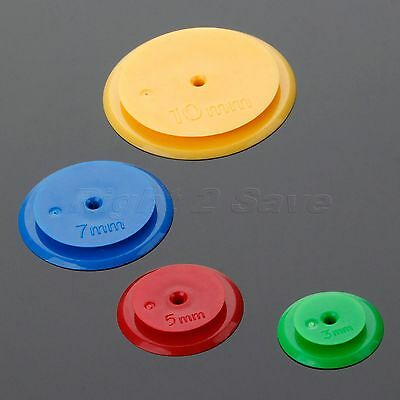 4Pcs 3/5/7/10mm Assorted Quilting Craft Tool Sewing Stitch Space Tracing Marker