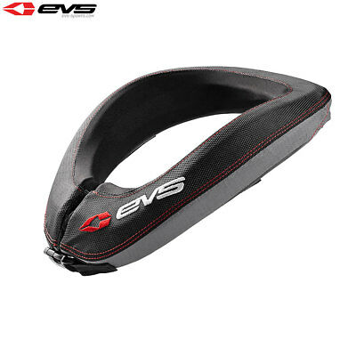 EVS R2 Motorcycle Motorbike Race Neck Collar Protector Youth Black - One Size