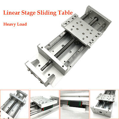 Linear Stage Cross Slide Table X Y Z Axis CNC Sliding Table SFU1060 Heavy Load