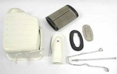 Lambretta High flow Air Filter Box kit, series 3, BGM