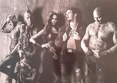 Guardians Of The Galaxy Vol 2 Film Movie 2017 A4 Poster Picture Print Art